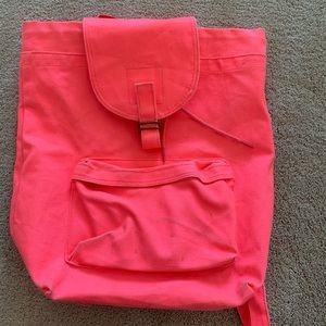 Baggu backpack (pink)